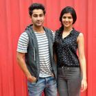 Armaan And Deeksha On A Promotion Spree