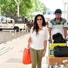Richa Chadda Clicked At The Mumbai Airport