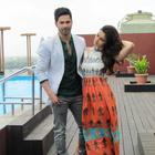 Varun And Alia Promote HSKD In Ahmedabad