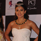 Gauhar Khan,Mihika Verma And Amruta Patki Showstopper For The IIGJ Mumbai Show