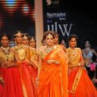 Dia Mirza Rocks The Ramp For Shobha Shringar Show At IIJW