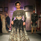 Kangana Ranaut Walks On Ramp For Designer Anju Modi