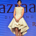 Sonam Kapoor And Yami Gautam Walked On Ramp At IIJW 2014