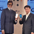 Amitabh Bachchan At LG Mobile Launch Event