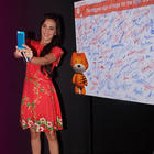 Tara Sharma At NDTV Save Our Tigers Campaign