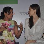 Kalki Koechlin And Richa Chadda At Trivial Disasters Play Press Meet