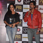 Richa Chadda And Nikhil Dwivedi At Trailer Launch Of Tamanchey