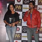 Richa Chadda And Nikhil Dwivedi At Trailer Launch Of Tamanchey