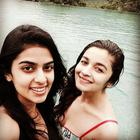 Alia Takes A Swim With Her Friends