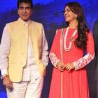Raveena Tandon And Juhi Chawla At SONY PAL Launch
