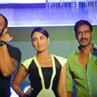 Ajay And Kareena At Singham Range Of Police Watches Launch