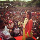 Bipasha Basu Celebrating Dahi Handi At Ghatkopar