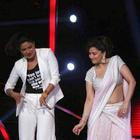 Priyanka On The Set Of Jhalak Dilkala Jha To Promote Her Movie