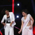 Priyanka On The Set Of Jhalak Dilkala Jha To Promote Her Movie