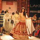 Jacqueline Fernandez Walk On The Ramp For LFW Winter Festive 2014