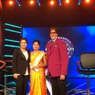 Rani Mukherjee At KBC To Promote Her Movie Mardaani