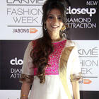 Tanisha Mukherjee At Vaishali S. Fashion Show At LFW Winter/Festive 2014