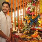 Shreyas Talpade Celebrates 2014 Ganesh Festival