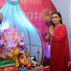 Rani Mukerji Celebrates 2014 Ganesh Chaturthi At Home