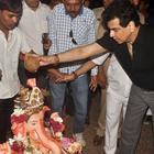 Ekta Kapoor And Family Attend Ekta Kapoor 2014 Ganpati Visarjan