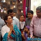 Rani Mukerji Visits Dagdusheth Mandir In Pune