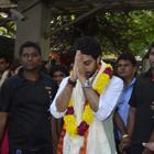 Abhishek Bachchan Visits Siddhivinayak Ganesha