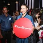 Deepika,Arjun,Sonam And Neha Dhupia At Vogue Night Out 2014
