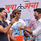 Hrithik Roshan At Dino Morea Fitness Station Launch