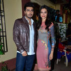 Sizzling Deepika And Dashing Arjun On The Sets Of Star Plus Serial For Finding Fanny Promotion