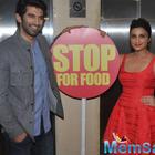 Aditya And Parineeti Promote Daawat-E-Ishq Movie On Food Yatra