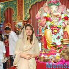 Priyanka Chopra And Darshan Kumar At The Ganpati Pandal Anderi Ka Raja