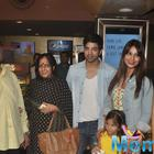 Bipasha Basu And Harman Baweja Watch Creature 3D Screening