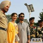 The Khoobsurat Duo Sonam And Fawad At The Wagah Border