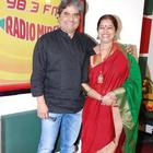 Vishal Bhardwaj And Rekha Bhardwaj At Radio Mirchi