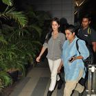 Hrithik And Katrina Snapped At Mumbai Airport After Bang Bang Promotion In Delhi