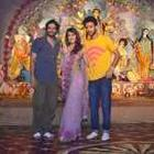 Cast Of Sonali Cable Movie Celebrates Durga Puja