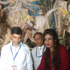 Bollywood Celebs At 2014 Durga Puja Celebration