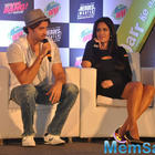 Hrithik Roshan And Katrina Kaif At Bang Bang Mountain Dew Event