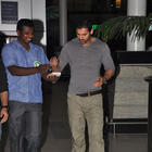 John Abraham Spotted At Mumbai Airport
