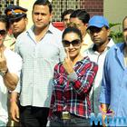 Bollywood Stars Voting For Maharashtra State Elections 2014