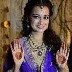 Dia Mirza And Sahil Sangha Engagement Ceremony Pics