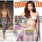 Sonam Kapoor Covers The Latest Issue Of Cosmopolitan India 18th Anniversary