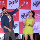 Sidharth Malhotra And Yami Gautam At The Cornetto Event In Kolkata