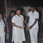 Anil Kapoor And Sonam Kapoor Celebrating 2014 Diwali With Media