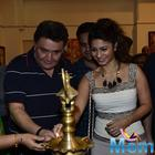 Rishi And Tanishaa At Dr. Seema Chaudhary And Nitin Chaudhary Art Show Inauguration