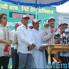 Poonam Dhillon And Poonam Sinha At 4th Inauguration Mega Cleanliness Drive