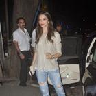 Deepika Padukone Spotted At Nido Mumbai