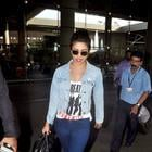 Priyanka Chopra And Elli Avram Return From Abu Dhabi Film Festival