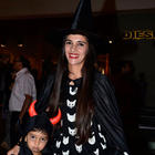 Tara Sharma At Palladium Halloween Bash