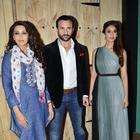 Saif Ali Khan And Ileana D'Cruz On The Sets Of Ajeeb Daastaan Hai Ye